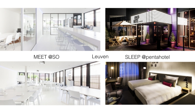 MEET@SO + SLEEP@pentahotel Leuven